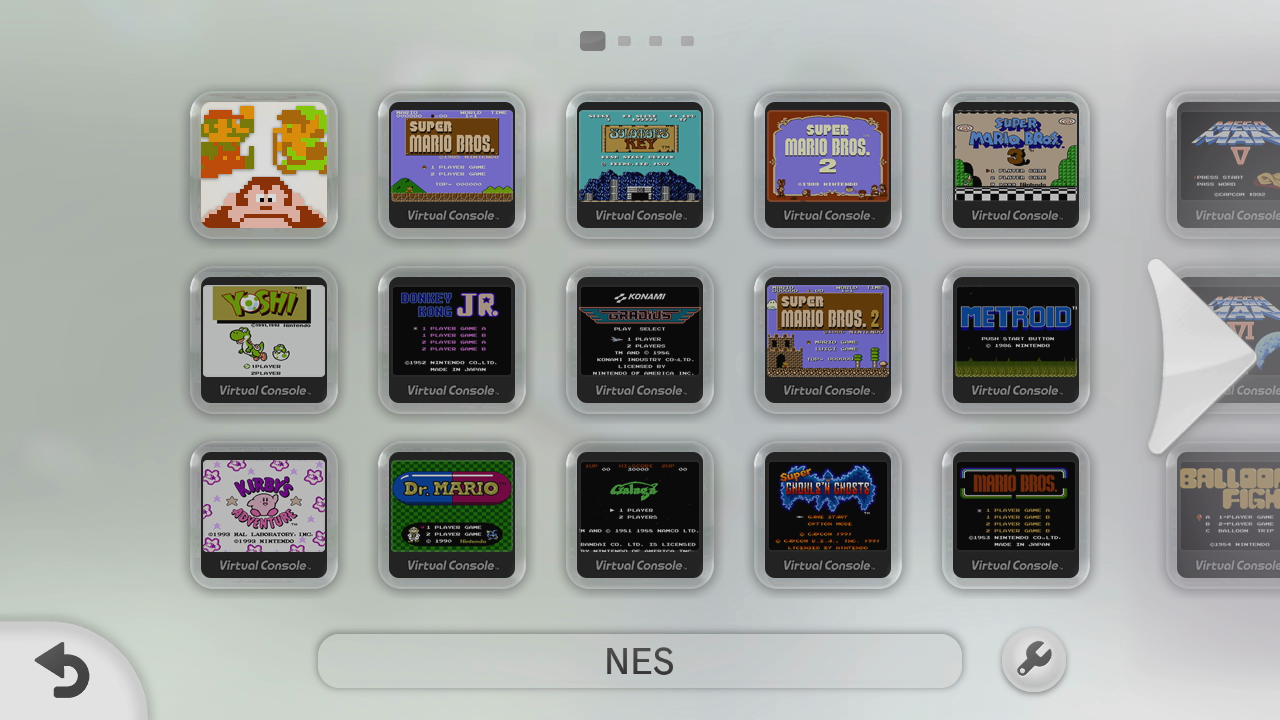 Nintendo Download: Virtual Console on the Wii U